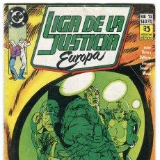 Cómics: LIGA DE LA JUSTICIA EUROPA Nº 13 EDICIONES ZINCO. Lote 145382558