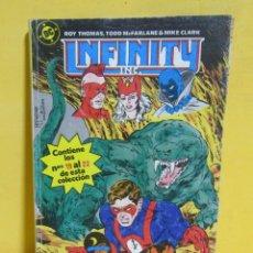 Cómics: INFINITY TOMO Nº 5 RETAPADO EDIC. ZINCO S.A. CONTIENE LOS NUMEROS DEL 19 AL 22 AÑO 1986. Lote 145417418
