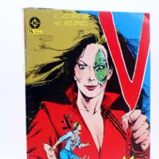Cómics: V LOS VISITANTES RETAPADO 3 NºS 11 A 16. (CARY BATES / CARMINE INFANTINO) ZINCO, 1986. Lote 149514684