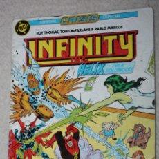Cómics: INFINITY INC Nº 13. Lote 145557906