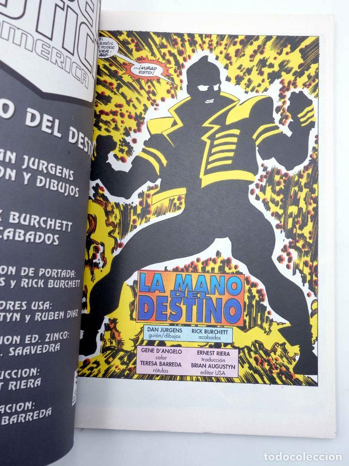 Comics: LIGA DE LA JUSTICIA AMERICA. VOL ESPECIAL LA MANO DEL DESTINO (Jurgens / Burchett) Zinco, 1996. OFRT - Foto 3 - 145692769