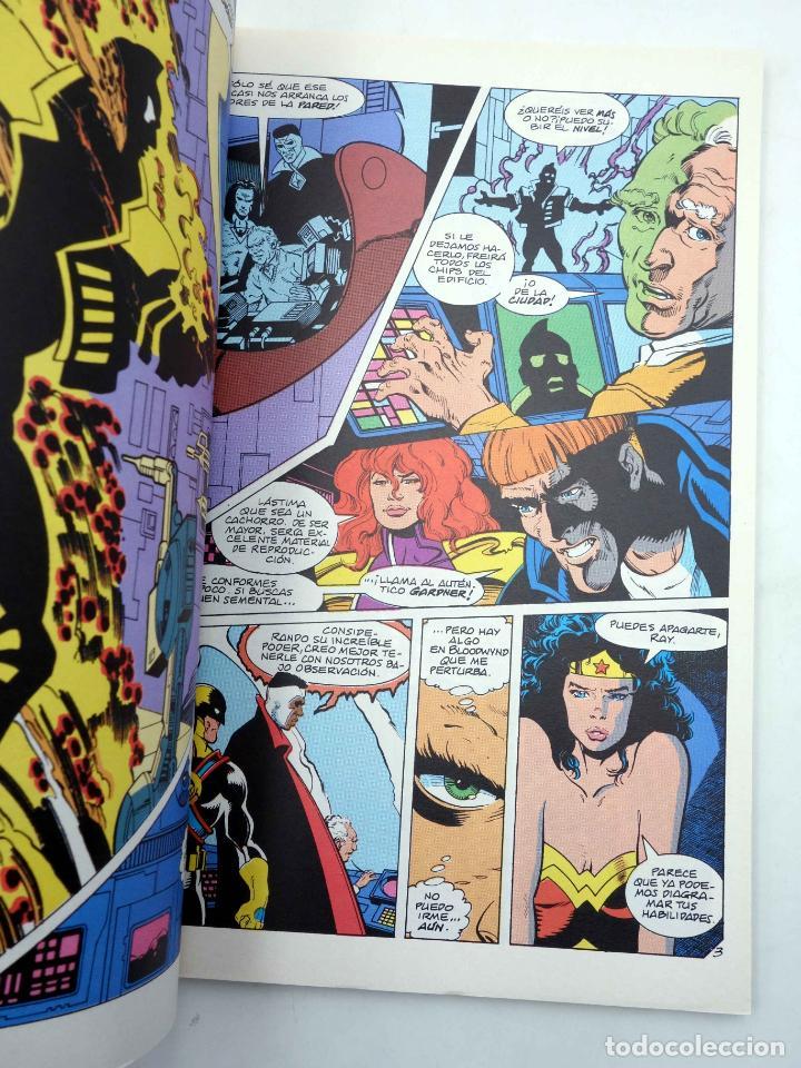 Comics: LIGA DE LA JUSTICIA AMERICA. VOL ESPECIAL LA MANO DEL DESTINO (Jurgens / Burchett) Zinco, 1996. OFRT - Foto 4 - 145692769