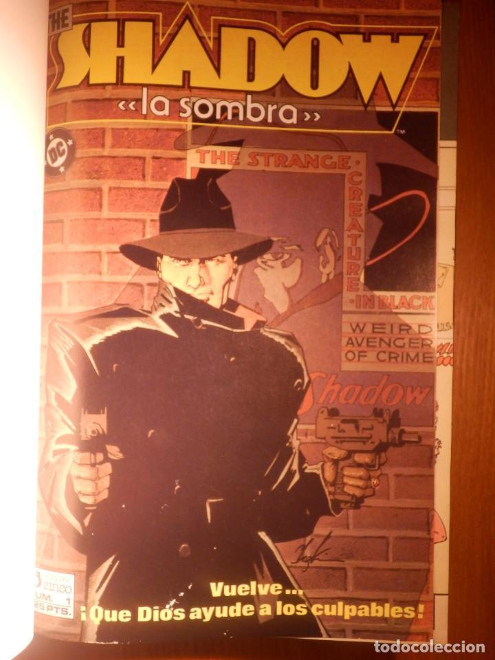 Cómics: Comic - Shadow - La Sombra - Los 4 Números encuadernados y mas - Zinco 1987 HOWARD CHAYKIN - Foto 2 - 222393790