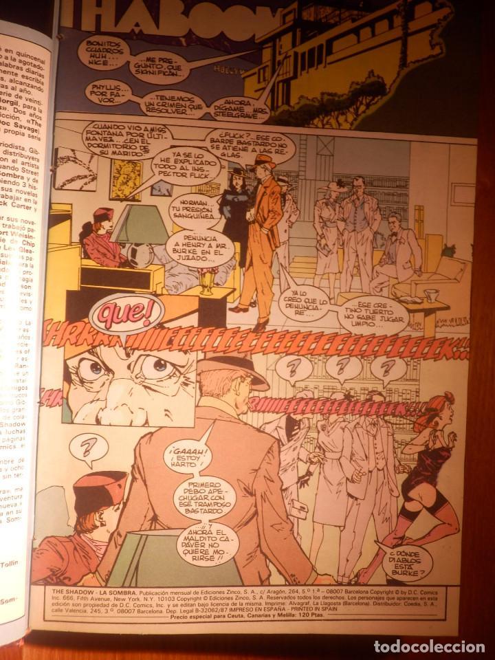 Cómics: Comic - Shadow - La Sombra - Los 4 Números encuadernados y mas - Zinco 1987 HOWARD CHAYKIN - Foto 4 - 222393790