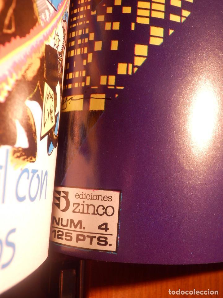 Cómics: Comic - Shadow - La Sombra - Los 4 Números encuadernados y mas - Zinco 1987 HOWARD CHAYKIN - Foto 5 - 222393790