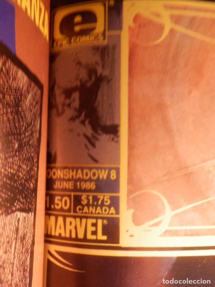 Cómics: Comic - Shadow - La Sombra - Los 4 Números encuadernados y mas - Zinco 1987 HOWARD CHAYKIN - Foto 6 - 222393790