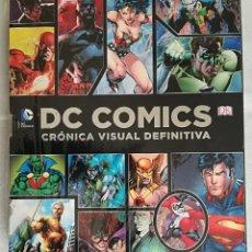 Cómics: DC COMICS. CRONICA VISUAL DEFINITIVA; DK. Lote 145778978