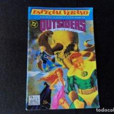 Cómics: LOS OUTSIDERS Nº 1 ESPECIAL VERANO EDICIONES ZINCO . Lote 145804642