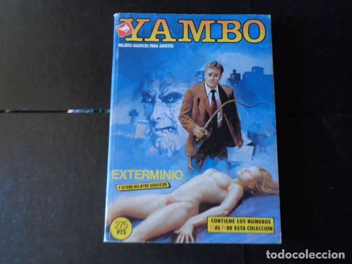 YAMBO RETAPADO Nº 5 CONTIENE 17 18 19 EDICIONES ZINCO ADULTOS (Tebeos y Comics - Zinco - Retapados)