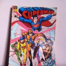 Cómics: SUPERMAN LOTE 4 NÚMEROS (11-12-14-15) PROCEDE DE TOMO ED.ZINCO 1985. Lote 145925762