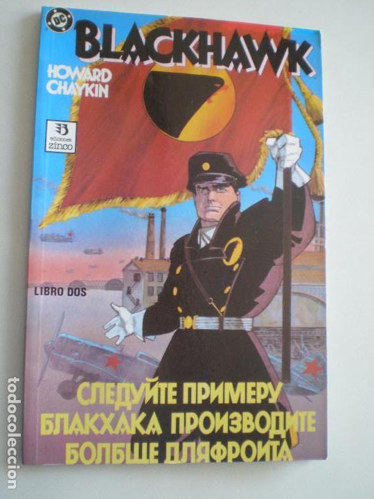 Cómics: BLACKHAWK - Howard Chaykin - COMPLETA TRES NUMEROS ZINCO / DC COMICS 1989 - Foto 4 - 145980166