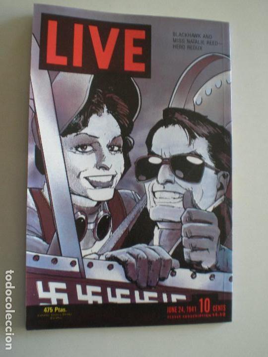 Cómics: BLACKHAWK - Howard Chaykin - COMPLETA TRES NUMEROS ZINCO / DC COMICS 1989 - Foto 7 - 145980166