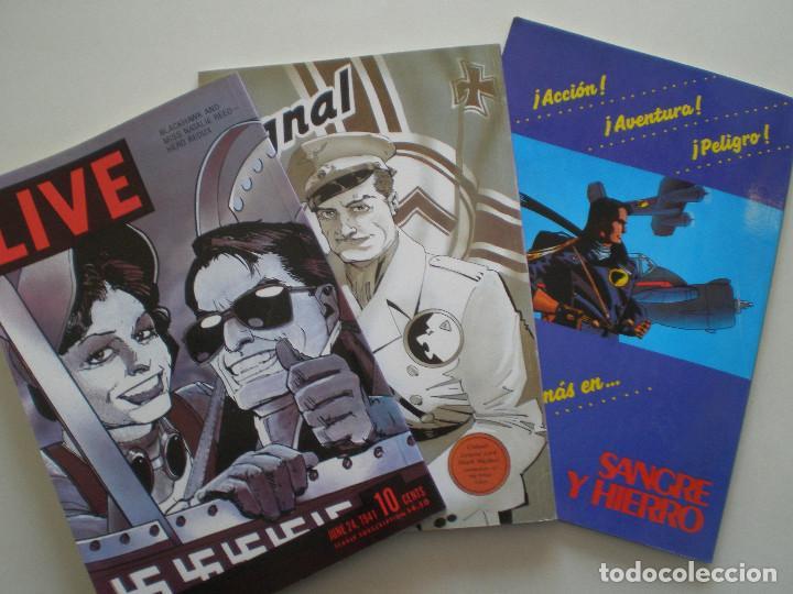 Cómics: BLACKHAWK - Howard Chaykin - COMPLETA TRES NUMEROS ZINCO / DC COMICS 1989 - Foto 8 - 145980166