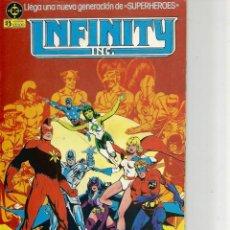 Cómics: LOTE DE 11 COMIC INFINITY DE ZINCO - Nº 1-2-3-4-5-6-8-10-14-15-Y 18. Lote 149815540