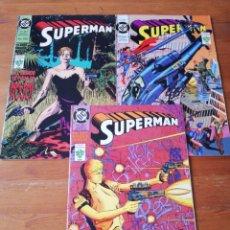 Cómics: LOTE DE 3 COMICS SUPERMAN. NÚMEROS 250-251-252. MÉXICO. . Lote 146218422