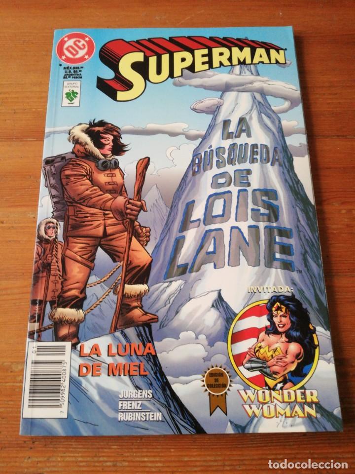 SUPERMAN. LA LUNA DE MIEL. MÉXICO. (Comics und Tebeos - Zinco - Superman)