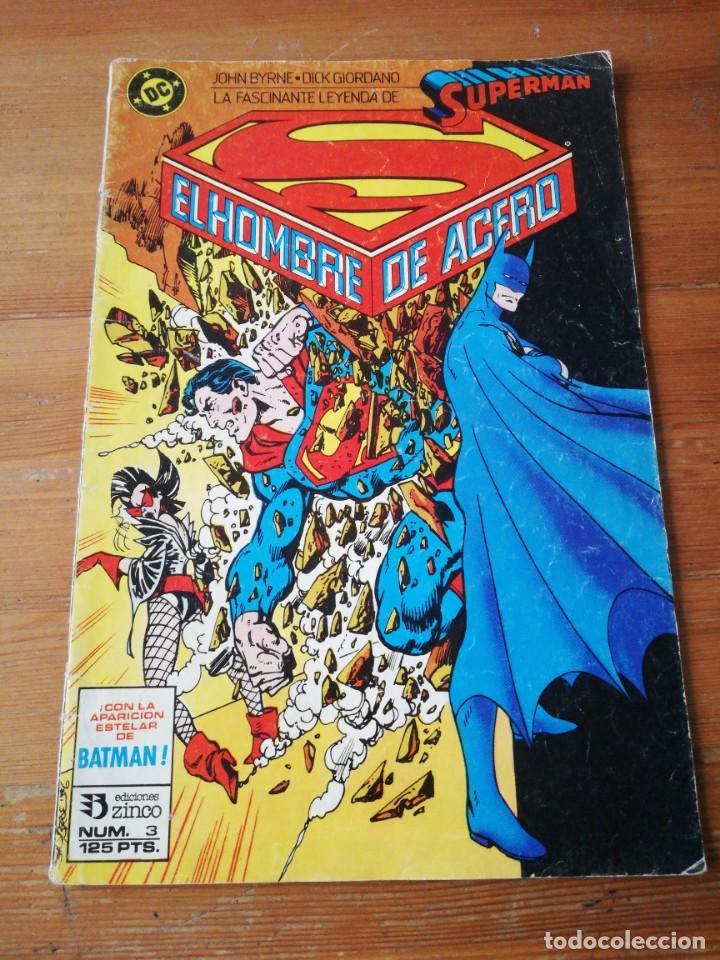 SUPERMAN. EL HOMBRE DE ACERO. NÚMEROS 3 (Comics und Tebeos - Zinco - Superman)