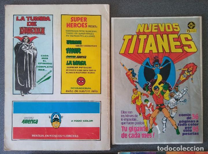 Cómics: Lote Comics Los Vengadores Superman Los Nuevos Mutantes La Cosa del Pantano - Foto 3 - 146235850