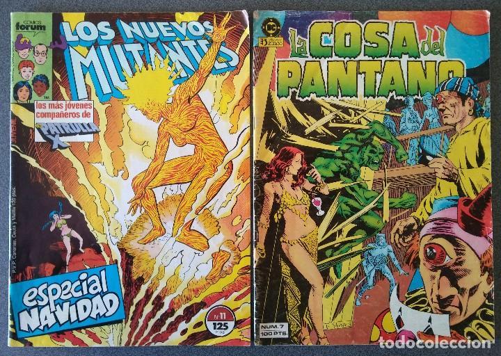 Cómics: Lote Comics Los Vengadores Superman Los Nuevos Mutantes La Cosa del Pantano - Foto 4 - 146235850