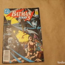 Cómics: BATMAN AÑO 3 Nº 1, EDITORIAL ZINCO. Lote 146246138