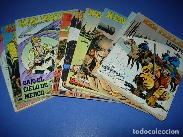 KEN PARKER 10 NUMEROS Nº 1 2 3 4 5 6 7 8 9 Y 10. ED. ZINCO 1982. (Tebeos y Comics - Zinco - Otros)