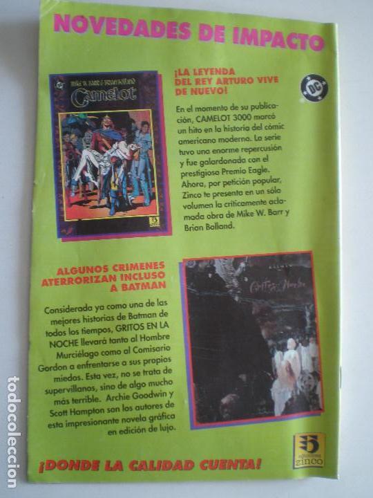 Cómics: LOBO - Infanticidio - Nº 1,2 y 3 (De 4) -EDICIONES ZINCO / DC 1993 //KEITH GIFFEN ALAN GRANT - Foto 2 - 146299462
