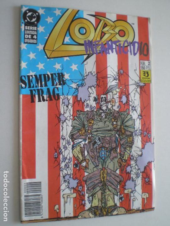 Cómics: LOBO - Infanticidio - Nº 1,2 y 3 (De 4) -EDICIONES ZINCO / DC 1993 //KEITH GIFFEN ALAN GRANT - Foto 3 - 146299462