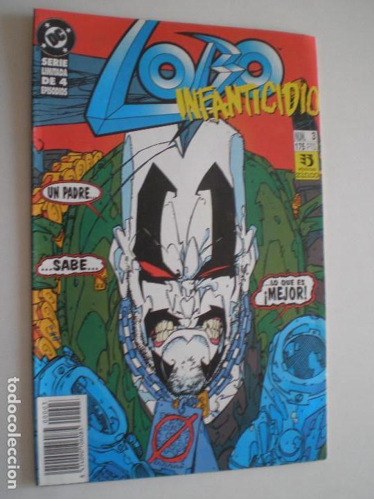 Cómics: LOBO - Infanticidio - Nº 1,2 y 3 (De 4) -EDICIONES ZINCO / DC 1993 //KEITH GIFFEN ALAN GRANT - Foto 5 - 146299462