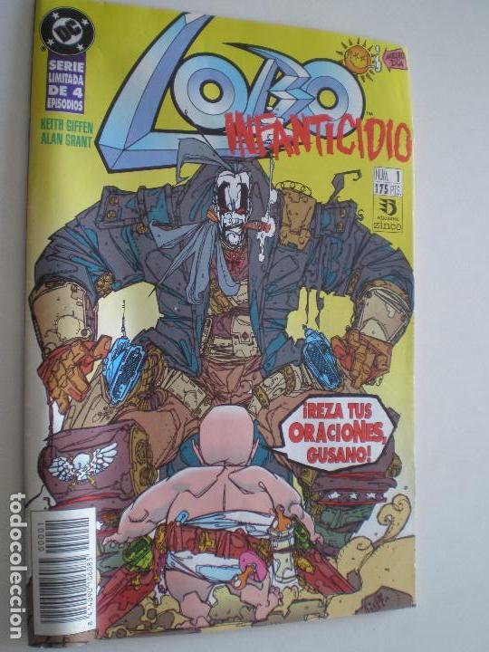 LOBO - INFANTICIDIO - Nº 1,2 Y 3 (DE 4) -EDICIONES ZINCO / DC 1993 //KEITH GIFFEN ALAN GRANT (Tebeos y Comics - Zinco - Lobo)