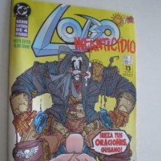 Cómics: LOBO - INFANTICIDIO - Nº 1,2 Y 3 (DE 4) -EDICIONES ZINCO / DC 1993 //KEITH GIFFEN ALAN GRANT. Lote 146299462