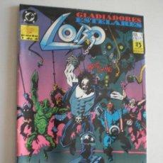 Cómics: LOBO - GLADIADORES ESTELARES - Nº 1 - EDICIONES ZINCO / DC 1993. Lote 146299730