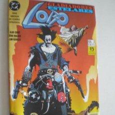 Cómics: LOBO - GLADIADORES ESELARES - Nº 3 - EDICIONES ZINCO / DC 1993. Lote 146299814