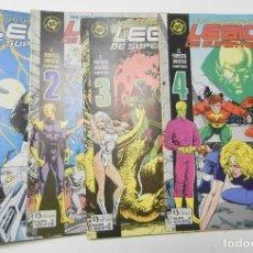 Comics: LEGIÓN DE SUPER-HÉROES. Nº 1-4. EL PROYECTO UNIVERSO. EPISODIO COMPLETO (DC. ZINCO). Lote 146418962