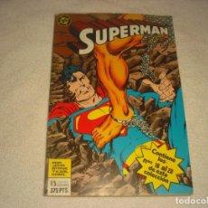 Cómics: SUPERMAN TOMO 12 .RETAPADO, CONTIENE DE LOS NUMEROS 16 AL 20. DC,JOHN BYRNE.. Lote 146575270