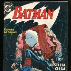 Cómics: BATMAN. JUSTICIA CIEGA - ZINCO Nº 1. Lote 146590418