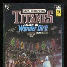 Cómics: LOS NUEVOS TITANES (VOL. 2) - ZINCO Nº 12. Lote 146591354