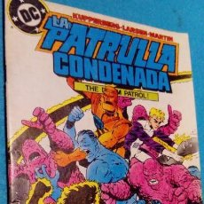 Cómics: LA PATRULLA CONDENADA # 9 - THE DOOM PATROL - ZINCO 1987 - KUPPERBERG, LIGHTLE & MARTIN. Lote 146599734