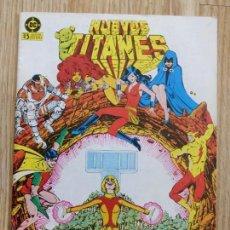 Cómics: NUEVOS TITANES NUM. 28 EDICIONES ZINCO DC TERRA JUNTO A LOS ANIMALES AÑO 1984. Lote 146738110