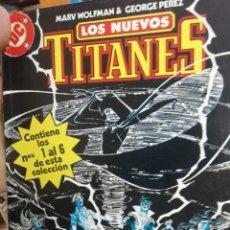 Cómics: LOS NUEVOS TITANES DEL 1 AL 6. RETAPADO. . Lote 147050698