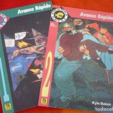 Cómics: AVANCE RAPIDO 1 Y 2 ( KYLE BAKER MORRISON ) ¡COMPLETA! ¡MUY BUEN ESTADO! DC ZINCO. Lote 147184678