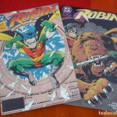 Cómics: LAS NUEVAS AVENTURAS DE ROBIN + SALTO AL VACIO ( DIXON ) ¡MUY BUEN ESTADO! ZINCO DC . Lote 147184802