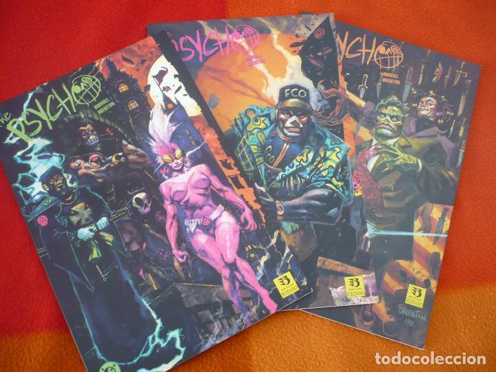 THE PSYCHO NºS 1 AL 3 ( JAMES D. HUDNALL ) ¡MUY BUEN ESTADO! COMPLETA ZINCO DC (Tebeos y Comics - Zinco - Otros)