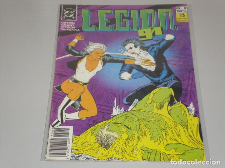 LEGION 91 8 (Tebeos y Comics - Zinco - Legión 91)
