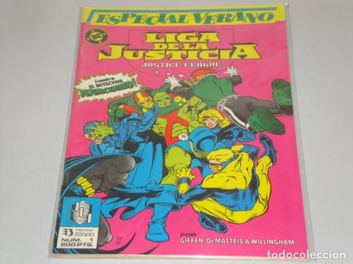 LIGA DE LA JUSTICIA ESPECIAL VERANO (Tebeos y Comics - Zinco - Liga de la Justicia)