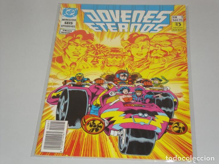 JOVENES ETERNOS COMPLETA 6 NUMEROS (Tebeos y Comics - Zinco - Otros)