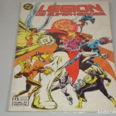 Cómics: LEGION DE SUPER HEROES 10. Lote 147258686