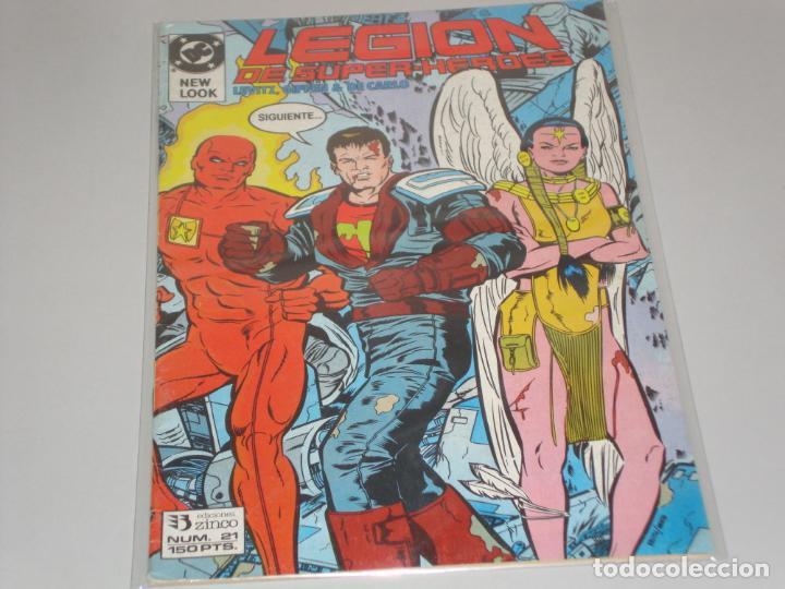 LEGION DE SUPER HEROES 21 (Tebeos y Comics - Zinco - Legión 91)