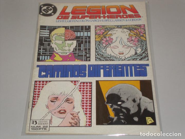 LEGION DE SUPER HEROES 22 (Tebeos y Comics - Zinco - Legión 91)