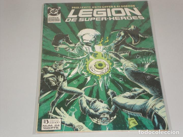 LEGION DE SUPER HEROES 24 (Tebeos y Comics - Zinco - Legión 91)