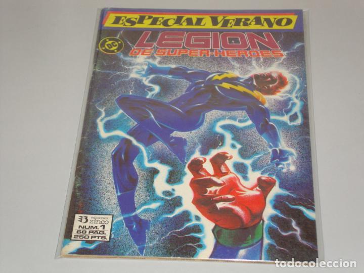 LEGION DE SUPER HEROES 1 ESPECIAL VERANO (Tebeos y Comics - Zinco - Legión 91)